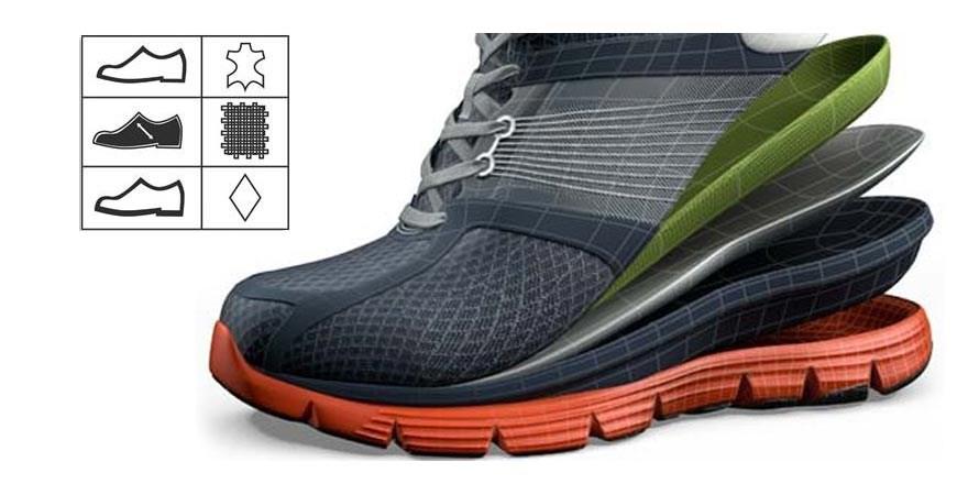 Значки на обуви